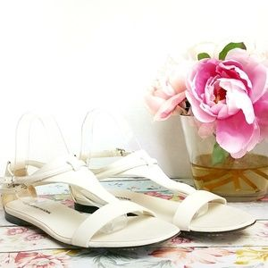 CoSTUME National Leather Sandals Made In Italy